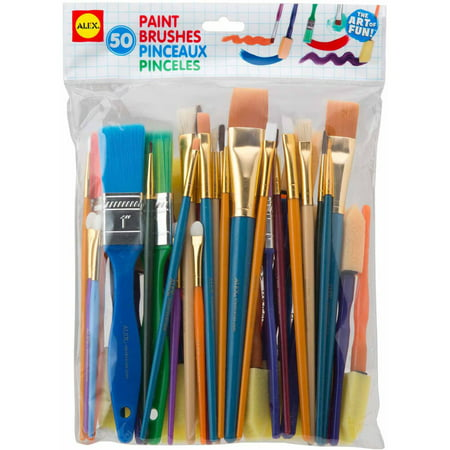 ALEX Toys Artist Studio Paint Brushes Set of 50