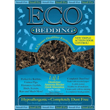 Fibercore Llc-Eco Bedding With Odor Control- Brown 1.5 (Carefresh Advanced Odor Control Small Animal Bedding)
