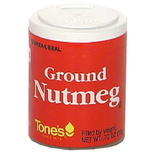 Spice Islands Ground Nutmeg, .60 oz (Pack of 6)