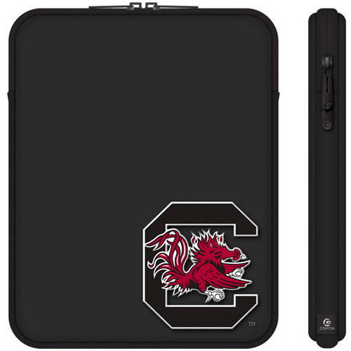 "Centon 10"" Classic Black Tablet Sleeve University of South Carolina"