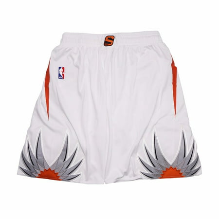 Phoenix Suns NBA Adidas White Authentic On-Court Home Climalite Game Shorts For Men
