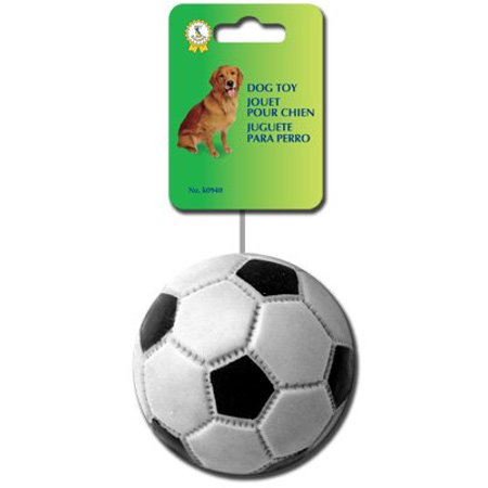 Pet Shoppe Squeaky Dog Toy Soccer - Soccer Dot Com