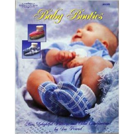 Baby Booties, 9 Crochet Patterns (Carolina Country House #9940) Sue Penrod
