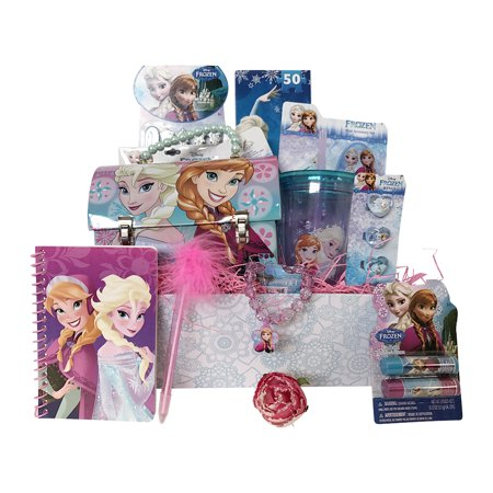 Disney Frozen Gift Basket for Girls Perfect Get Well or Birthday Gifts for Girls 4 to8 Years Old - 4 Year Old Christmas Gifts