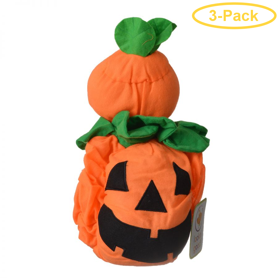 Lookin' Good Pumpkin Dog Costume Medium - (Fits 14-19 Neck to Tail) - Pack of 3