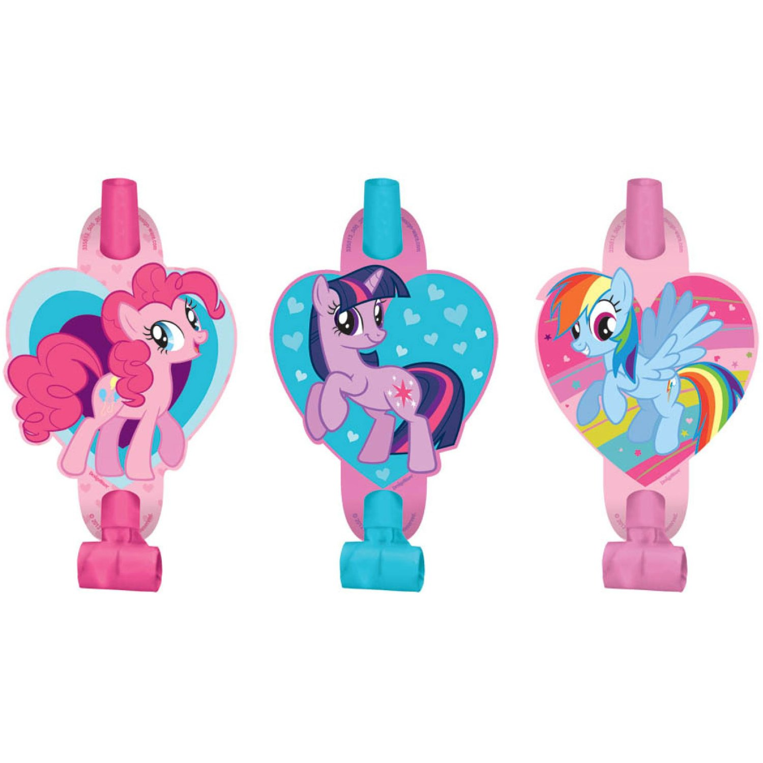 My Little Pony Friendship Magic, Blowouts Asst., 8pk