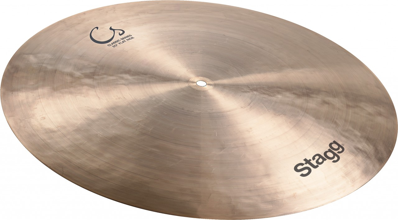 "Stagg CS-RF20 Classic Series 20"" Flat Ride Cymbal by Overstock"