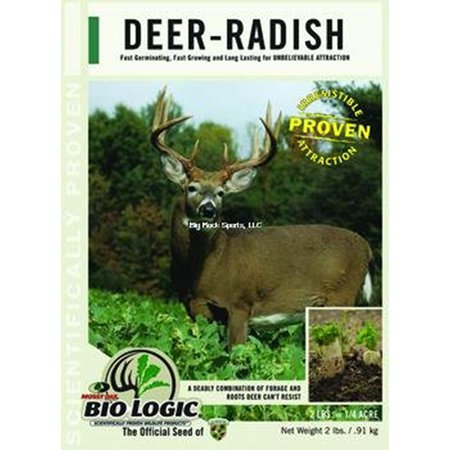 Deer Radish Annual Food Plot Seed     By Biologic Ship From Us
