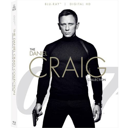 007 The Daniel Craig Collection: Casino Royale   Quantum Of Solace   Skyfall   Spectre (Blu-ray + Digital HD) by Mgm