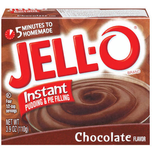 Jell-O Chocolate Instant Pudding & Pie Filling, 3.9oz