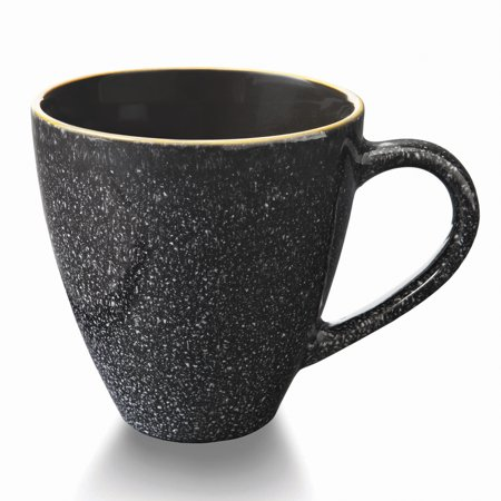 Botanic Garden Breakfast Mug - Better Homes & Gardens Burns Mugs, set of 4, Black
