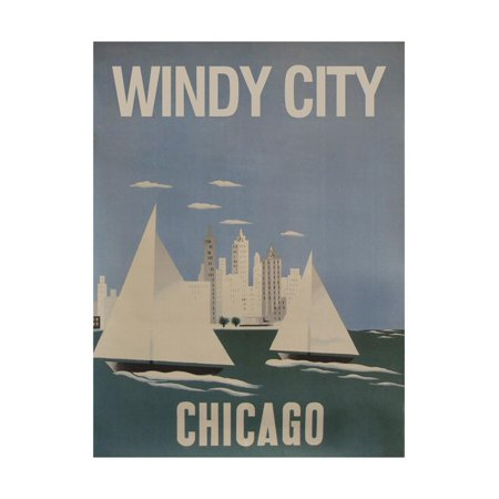 Windy City Print Wall Art - Windy City Coupon