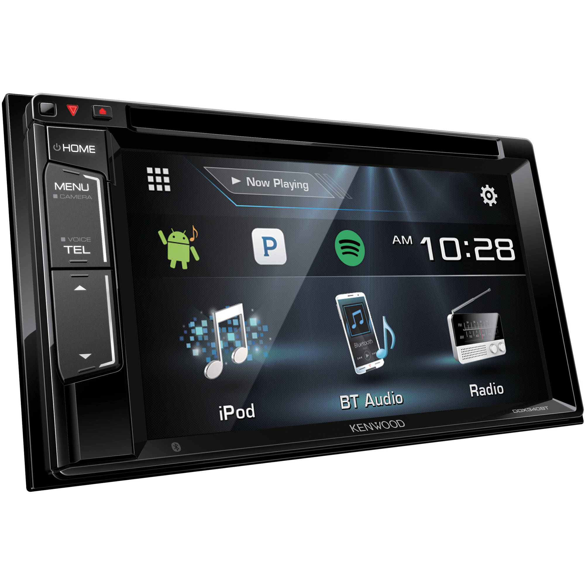 """Kenwood DDX340BT 6.2"""" WVGA Double-DIN DVD Receiver by Kenwood"""