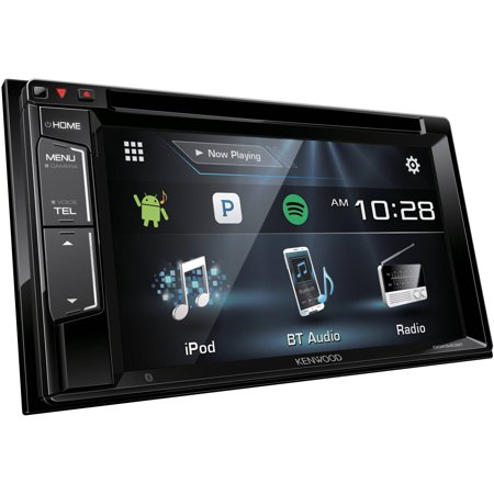 kenwood ddx340bt 6 2 wvga double din dvd receiver. Black Bedroom Furniture Sets. Home Design Ideas