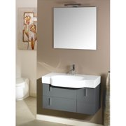 Iotti by Nameeks Enjoy 35'' Single Wall Mounted Bathroom Vanity Set with Mirror