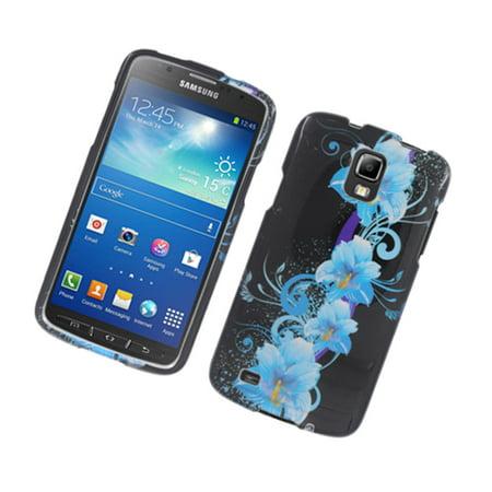 Insten Flowers Hard Case For Samsung Galaxy S4 Active -