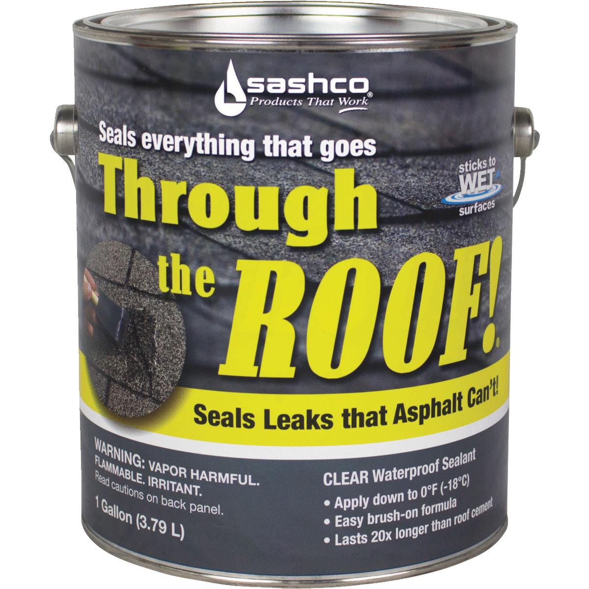 Sashco Through the Roof Cement & Patching Sealant