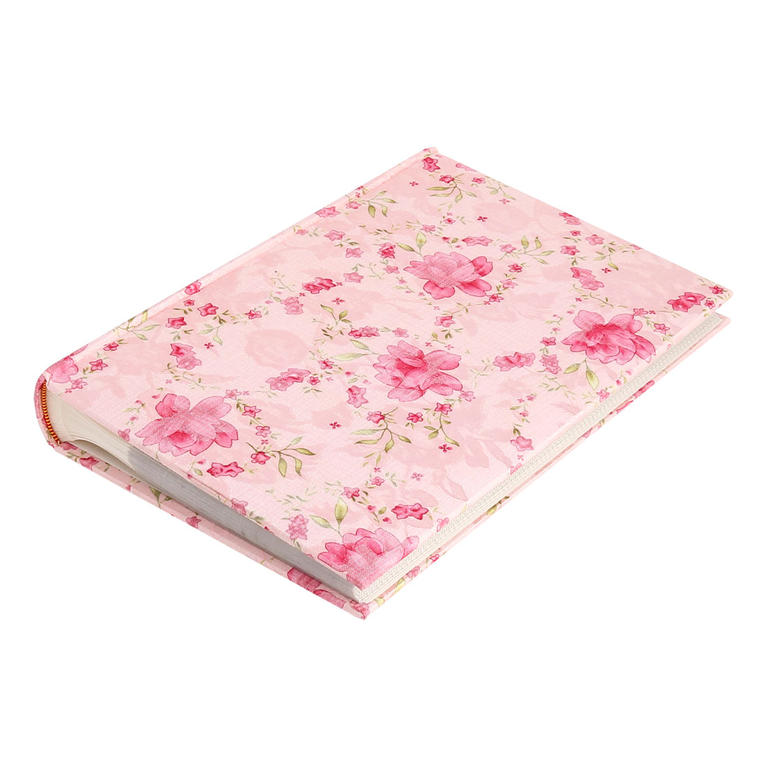 Household Non-Woven Fabric Surface Paper Memo Pocket Photo Album Pink 6inches