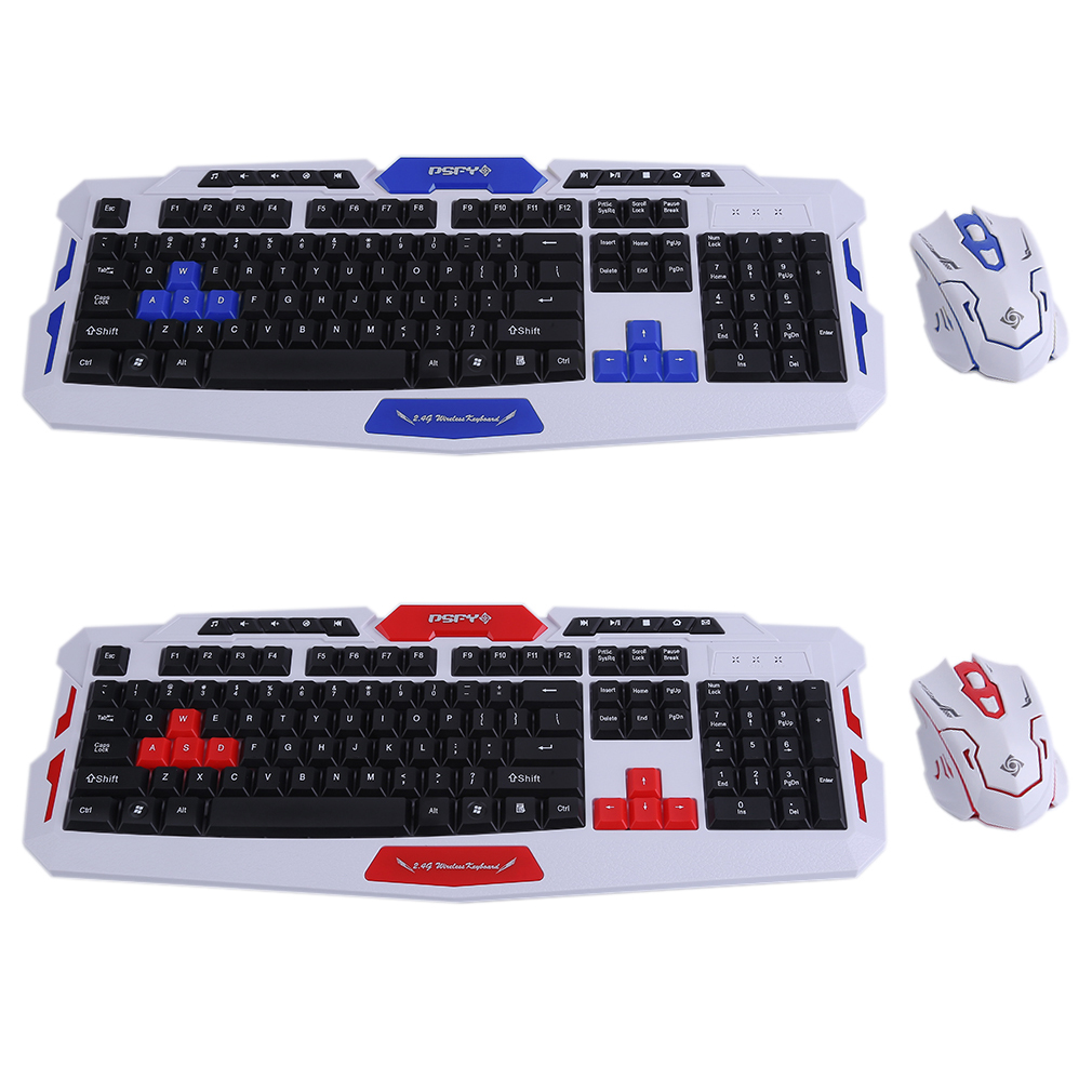 Intelligent Wireless 2.4G Gaming Keyboard And Mouse Computer Mice HK8100