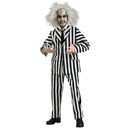 Men's Beetlejuice Grand Heritage Costume - Women's Beetlejuice Costume