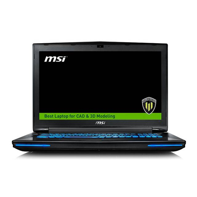 Msi WT72S 6QN-245US 17.3 inch Intel Core i7-6820HK 2.7GHz...