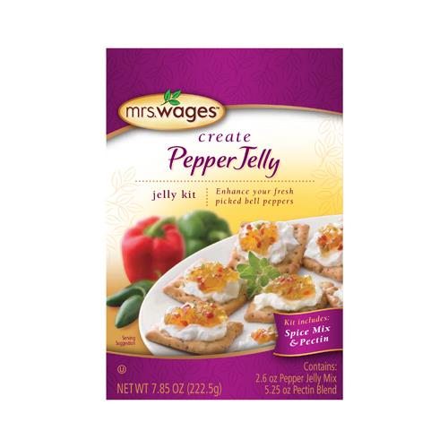 Kent Precision Foods Group W806-D9425 Jelly Mix, Pepper Jelly Kit or Kitchen , 7.85-oz.