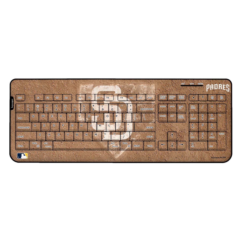 San Diego Padres Wireless USB Keyboard MLB