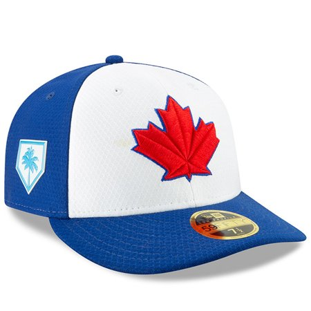 3a3373fc7 Toronto Blue Jays New Era 2019 Spring Training Low Profile 59FIFTY Fitted  Hat - White/Royal - Walmart.com