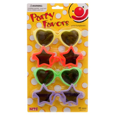 New 317201  Mtc Pf-1010 Kid Sunglasses 3Pc (24-Pack) Party Set Cheap Wholesale Discount Bulk Party Supplies Party Set Health & Beauty. - Led Sunglasses Wholesale