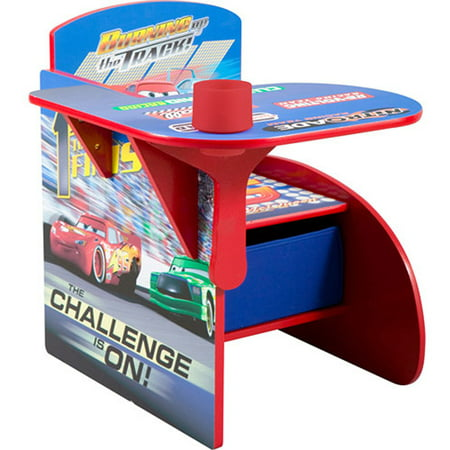 disney cars desk chair with storage bin walmart com