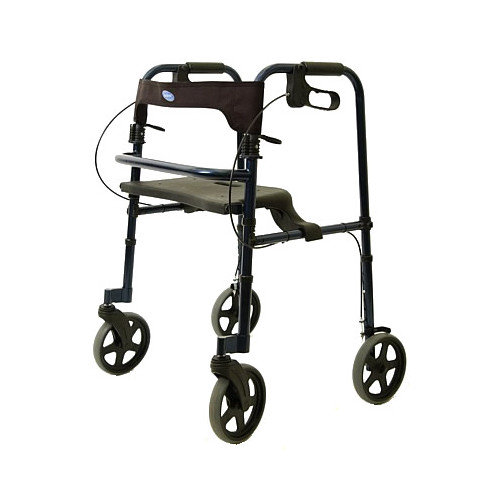 Invacare Blue Tall Adult Rollite Rollator