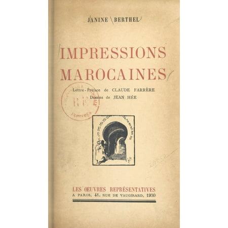 Impressions marocaines - eBook (Andy Tauer L Air Du Desert Marocain)