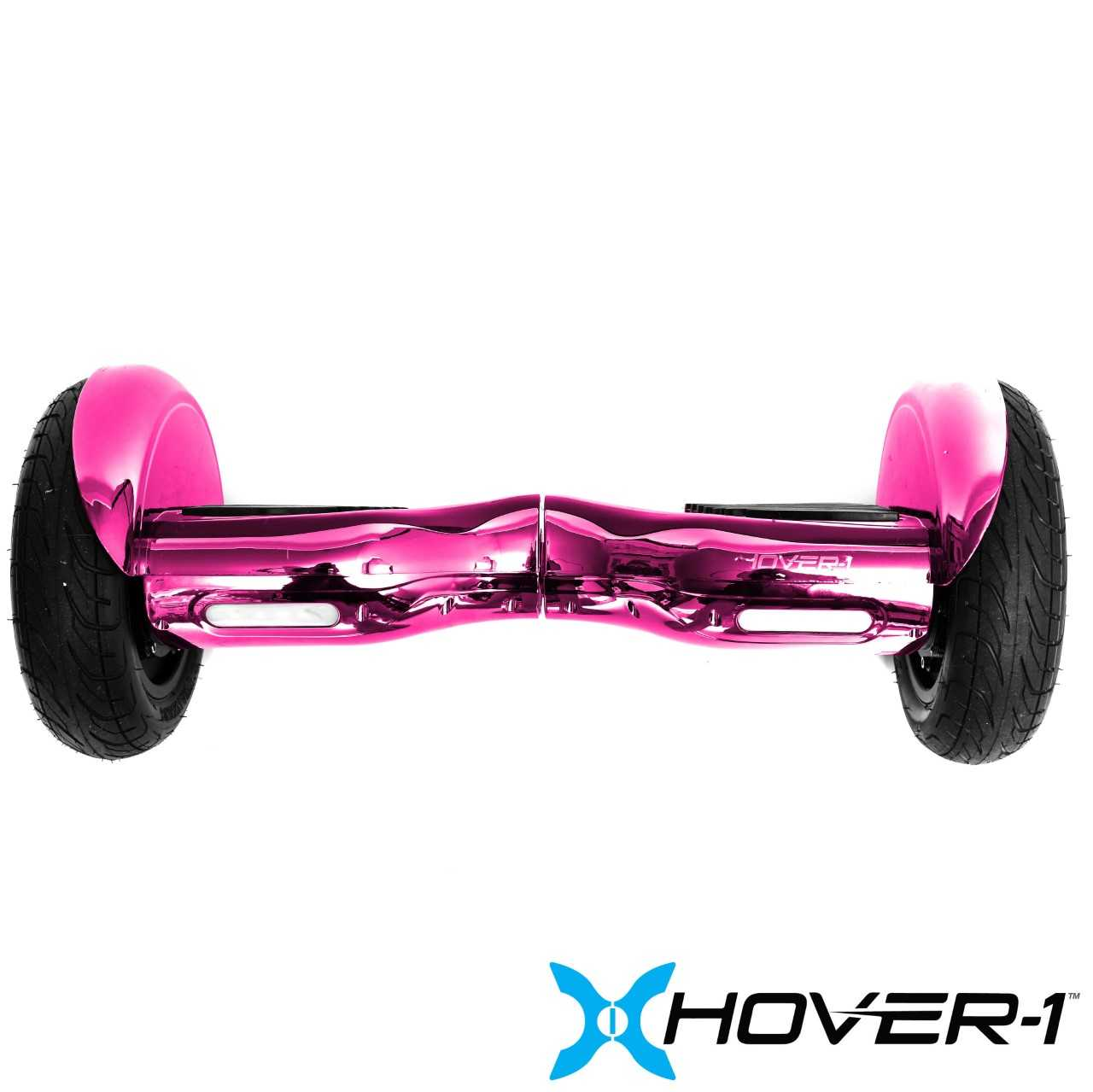 Hover-1 Titan UL Certified Electric Hoverboard w/ 6.5 Wheels, LED Lights, Bluetooth Speaker, and App Connectivity - Pink