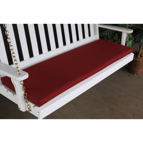 A & L Furniture Sundown Agora 68 x 17 in. Cushion for Bench or Porch Swing