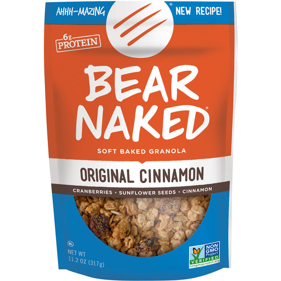 Bear Naked Original Cinnamon Bearly Processed Granola, 11.2 oz