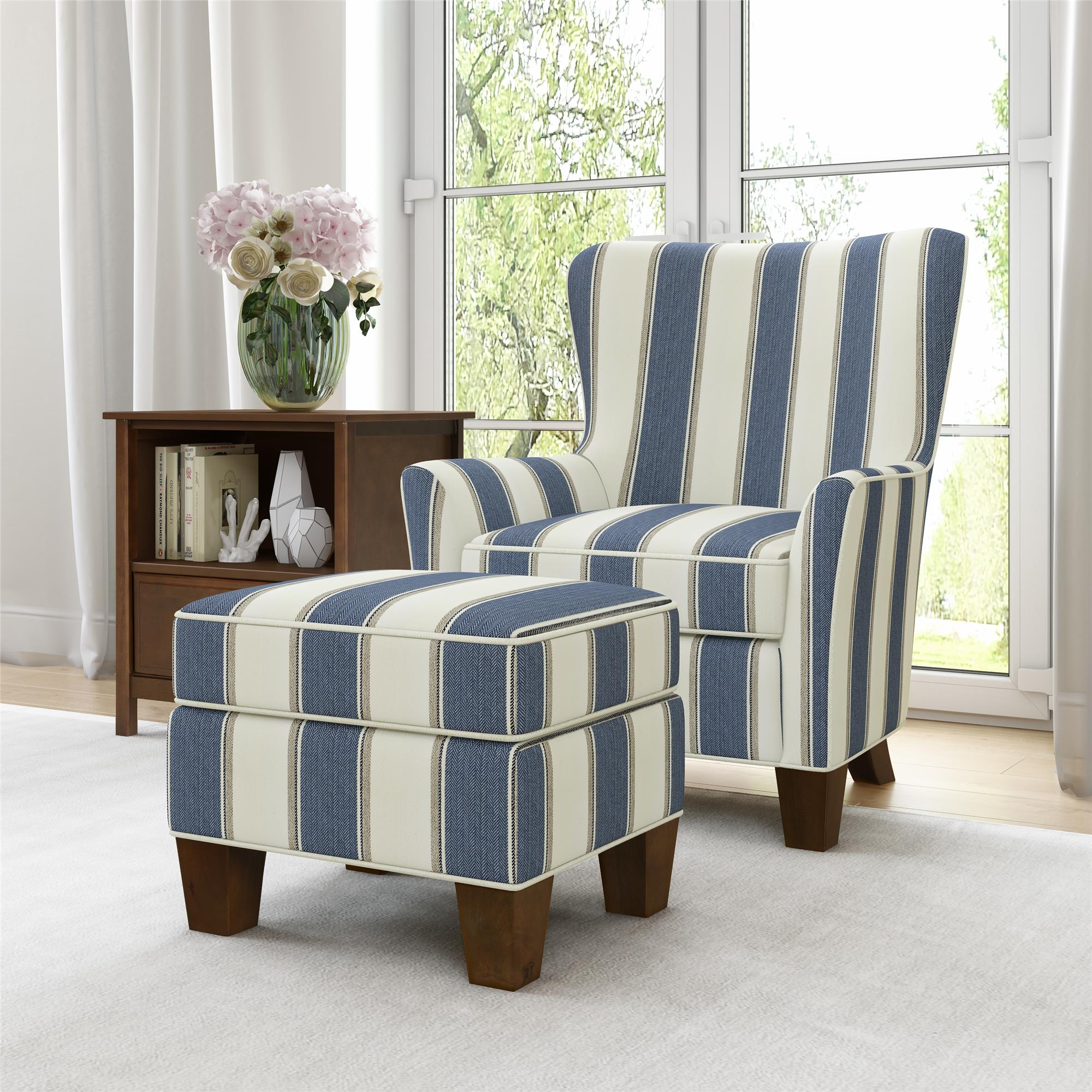 Better Homes Amp Gardens Grayson Accent Chair Amp Ottoman