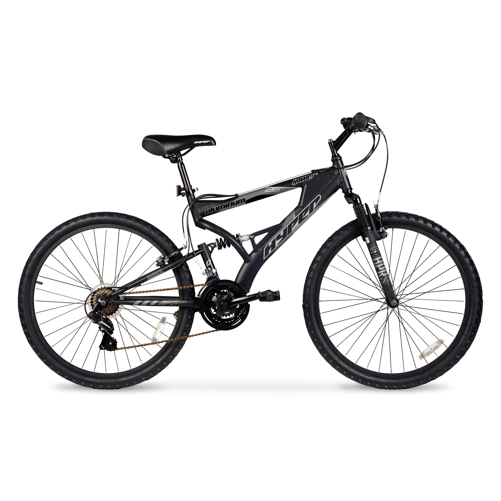 "HYPER 26"" Havoc Men's Mountain Bike, Black by Hyper Bicylces"