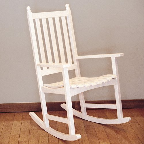 Achla Designs Eucalyptus Rocking Chair With Slat Seat Ofr-03