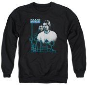 Miami Vice Looking Out Mens Crewneck Sweatshirt