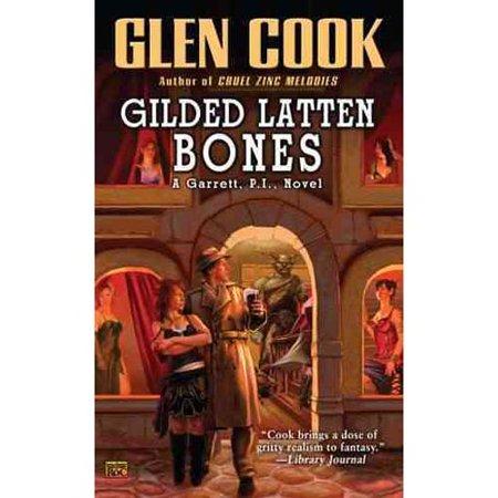 Gilded Latten Bones by