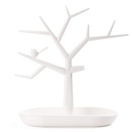 Michellem Jewelry Tree Stand Display Organizer Necklace Ring Earring Holder Show Rack Earring Tree Box