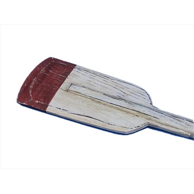 Handcrafted Model Ships Oar 50 507-Hooks Wooden Kinsington Squared Rowing Oar With Hooks 50 in. Decorative Accent by Handcrafted Model Ships