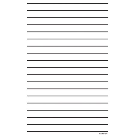 Writing paper lines