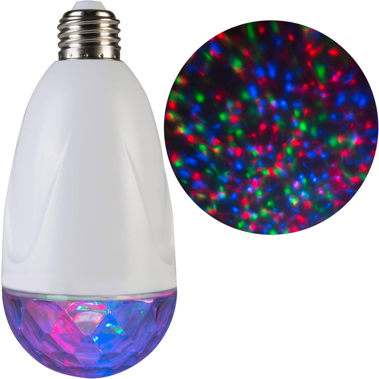 Gemmy Lightshow Christmas Lights Projection Standard Light Bulb Kaleidoscope, RGB
