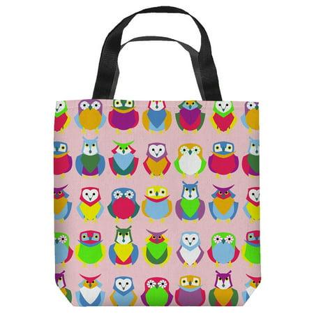 Owls Bird Art Nature Wilderness Animal Artwork Illustration Tote Bag - Owl Tote