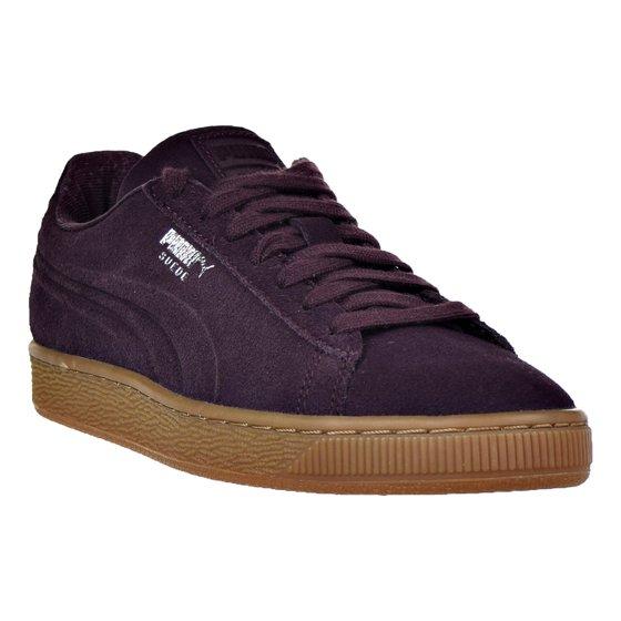 b01ec96ce935 PUMA - Puma Suede Classic Debossed Q4 Jr Big Kid s Shoes Winetasting ...