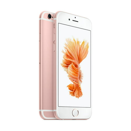 Walmart Family Mobile Apple iPhone 6s Plus with 32GB Prepaid Smartphone, Rose (Iphone 6s Plus And 6 Plus Difference)