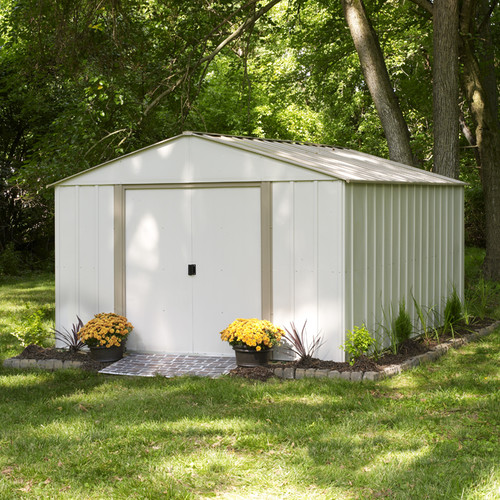 Arrow Oakbrook 10 Ft. W x 14 Ft. D Storage Shed