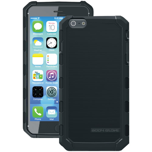 Body Glove Apple iPhone 6 Plus 6S Plus Dropsuit Case, Black by Body Glove