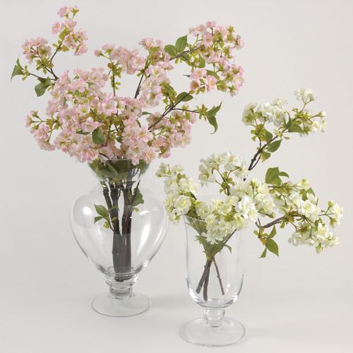 Saro Faux Botanicals Decorative Cherry Blossom (Set of 12)